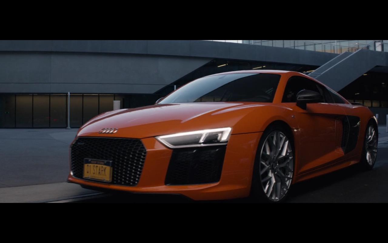 Orange Audi R8 - Captain America: Civil War (2016) - Movie Product Placement