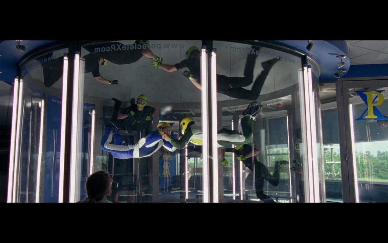 Paraclete XP Indoor Skydiving – Keeping Up with the Joneses (2016) Movie Product Placement
