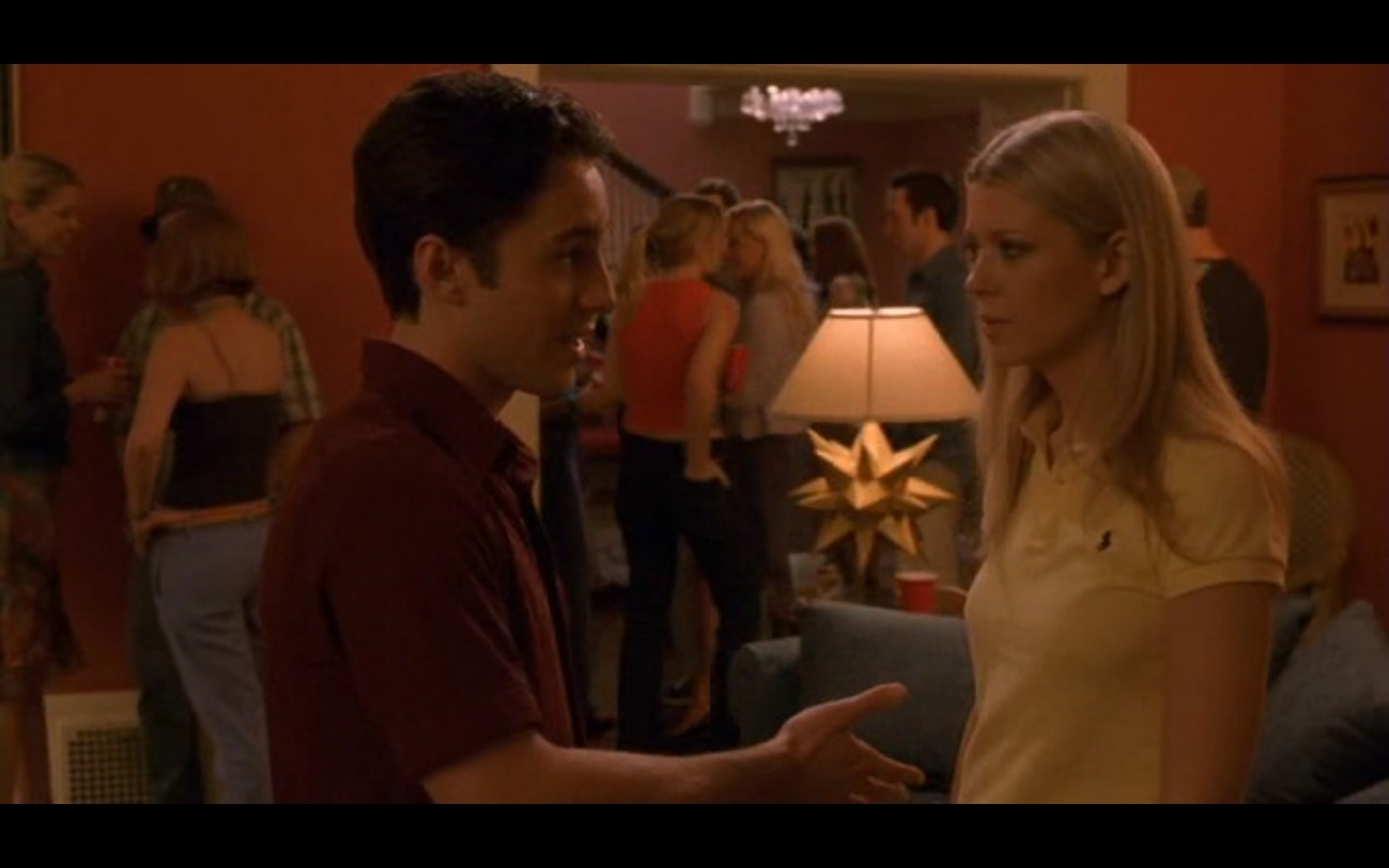 Ralph Lauren Women's Yellow Polo Shirt – American Pie 2 (2001) Movie Product Placement