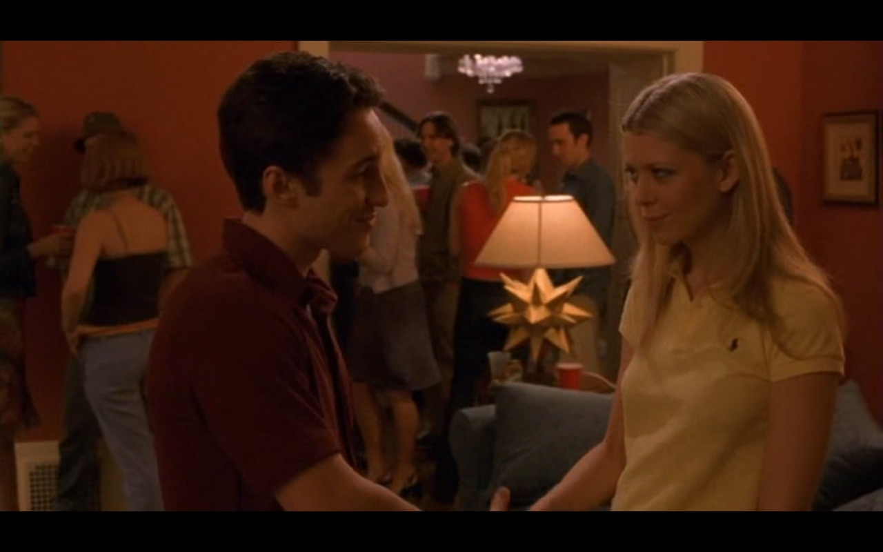 Ralph Lauren Women's Yellow Polo Shirt – American Pie 2 (2001) Movie  Product Placement Review