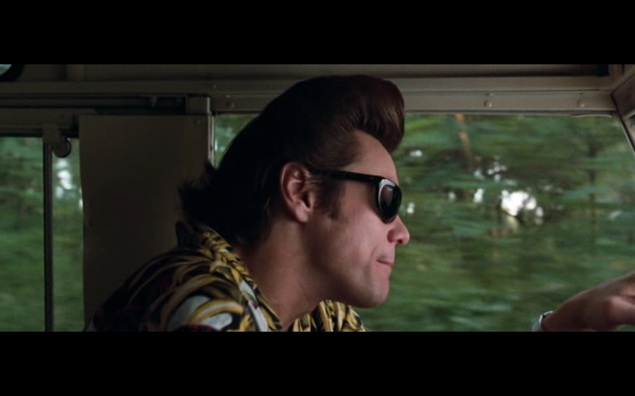 Ray-Ban Sunglasses – Ace Ventura: When Nature Calls (1995) Movie Product Placement