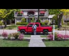 Red Chevrolet Silverado Pickup Truck – Central Intelligence (4)