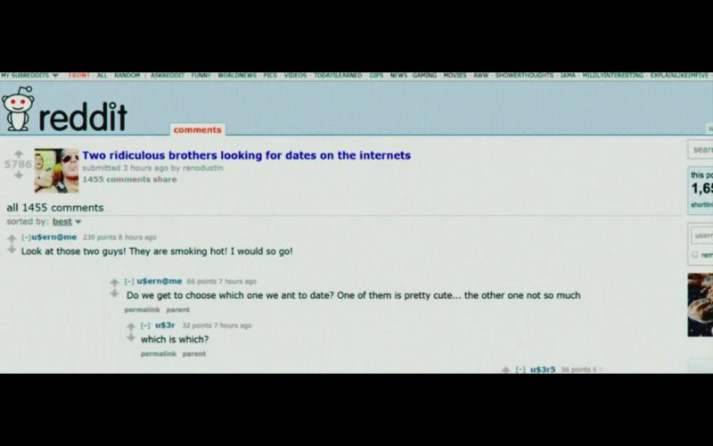 Reddit – Mike and Dave Need Wedding Dates