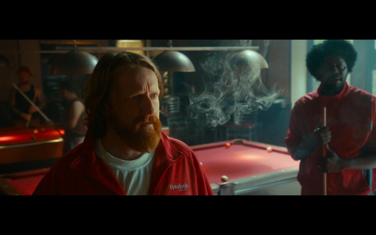 Reebok Men's Orange Sportswear – War on Everyone (2016) Movie Product Placement