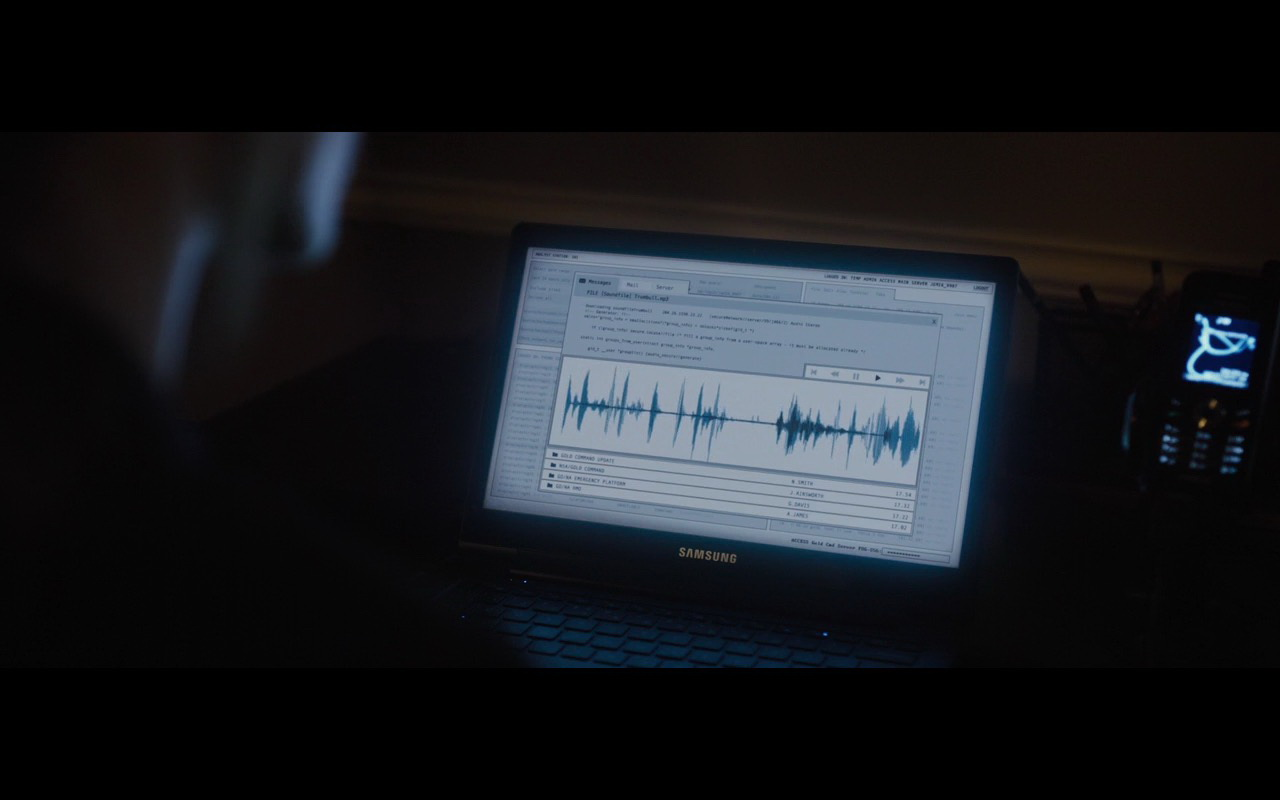 Samsung Notebook – London Has Fallen (2016) Movie Product Placement