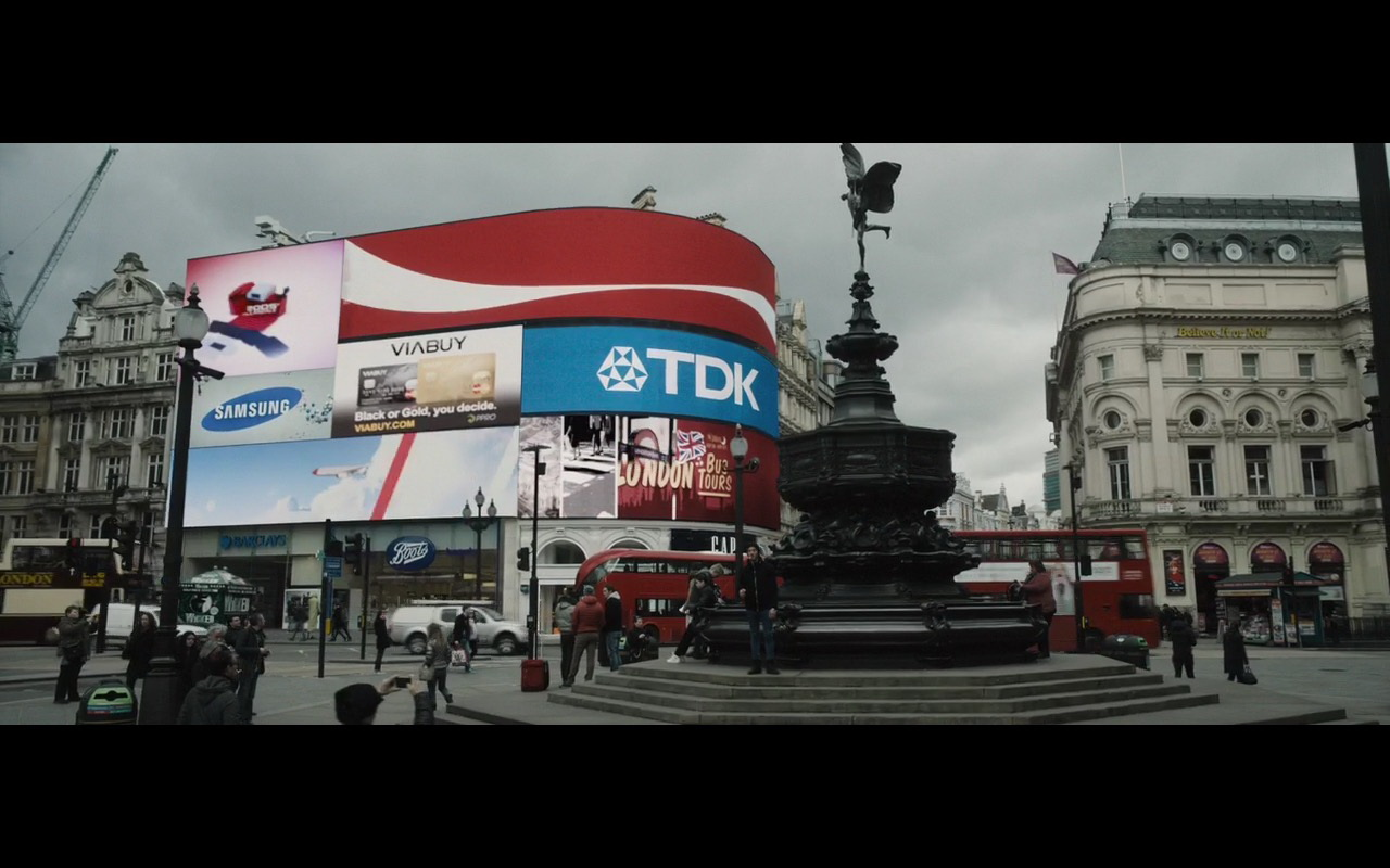 Samsung, VIABUY, TDK - London Has Fallen (2016) - Movie Product Placement