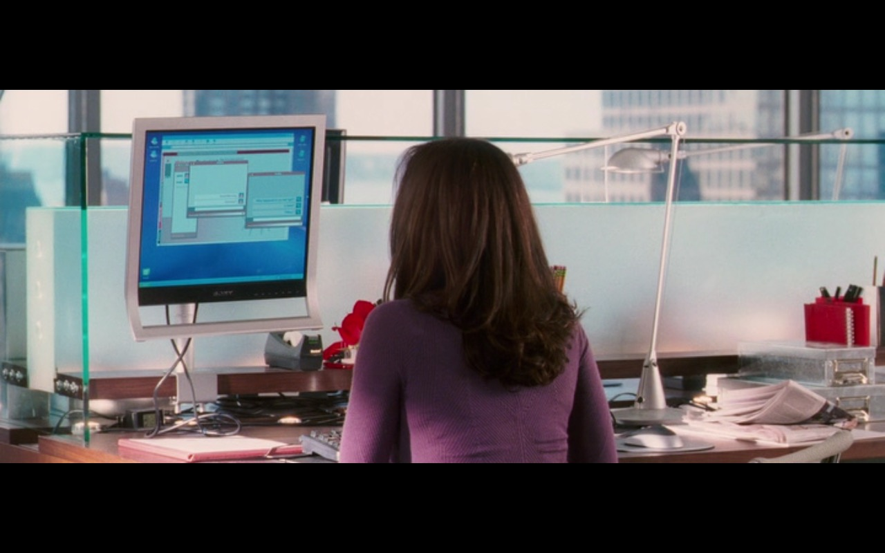 Sony Monitors  – Perfect Stranger (2007) - Movie Product Placement