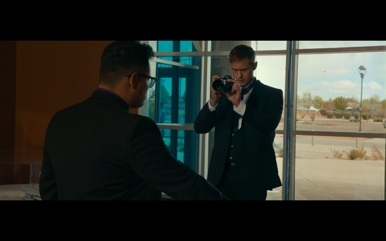 Sony A7 Digital Photo Camera – War on Everyone (2016) - Movie Product Placement