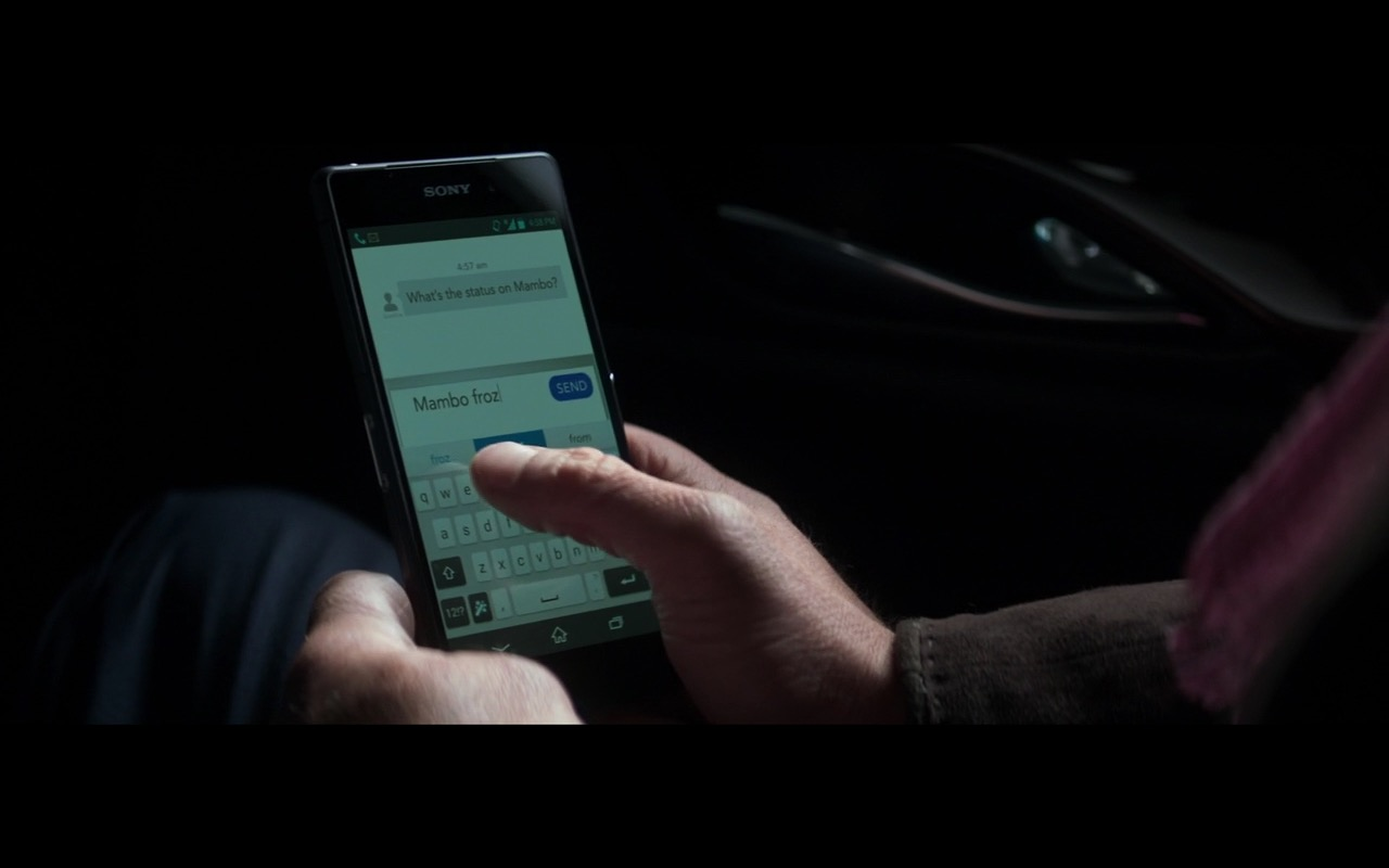 Sony XPERIA Smartphones – Money Monster (2016) Movie Product Placement