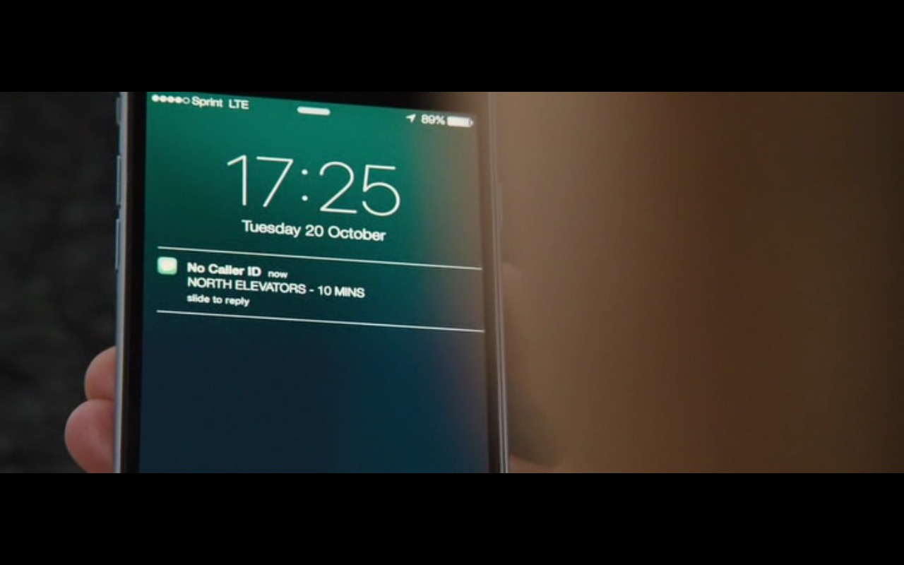 Sprint LTE – Jason Bourne (2016) Movie Product Placement