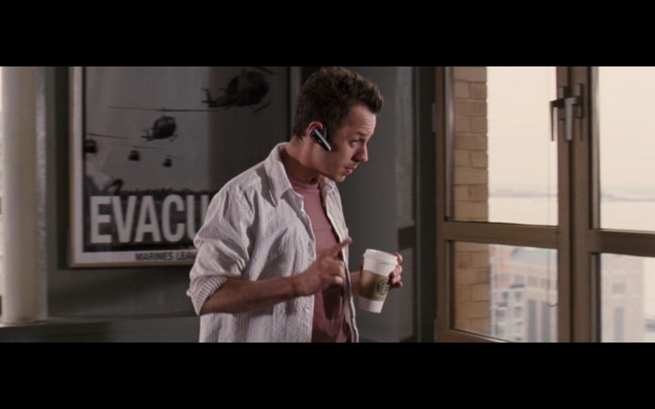 Starbucks Coffee – Perfect Stranger (2007) - Movie Product Placement