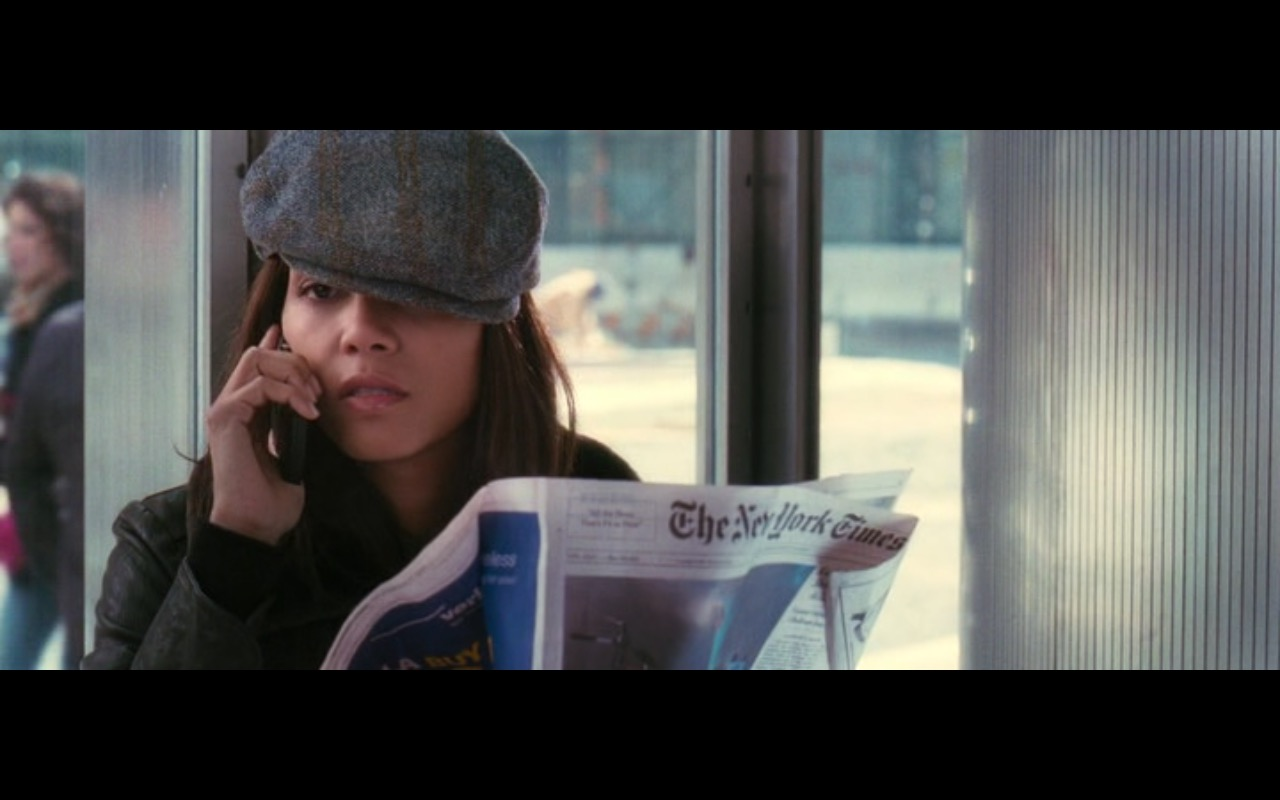 The New York Times – Perfect Stranger (2007) Movie Product Placement