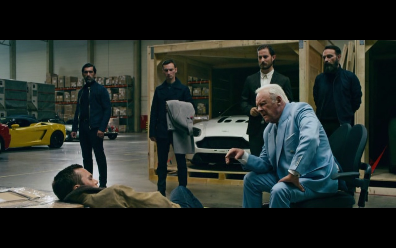 White Aston Martin V12 Vantage S – Collide (2016) Movie Product Placement