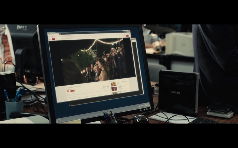ZOTAC - Bastille Day (2016) Movie Product Placement