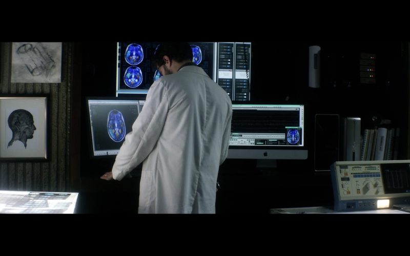 Apple iMac Computer – The 9th Life of Louis Drax (2016)