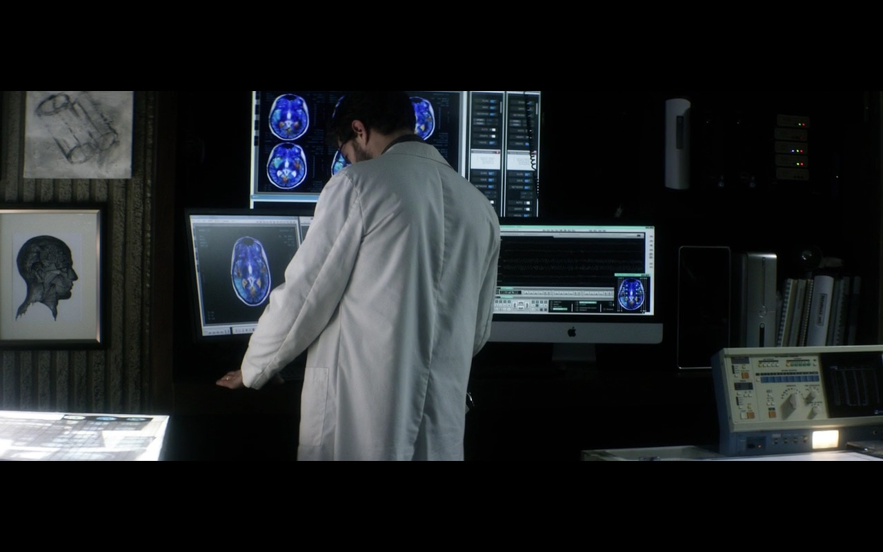 Apple iMac Computer - The 9th Life of Louis Drax (2016) Movie Product Placement