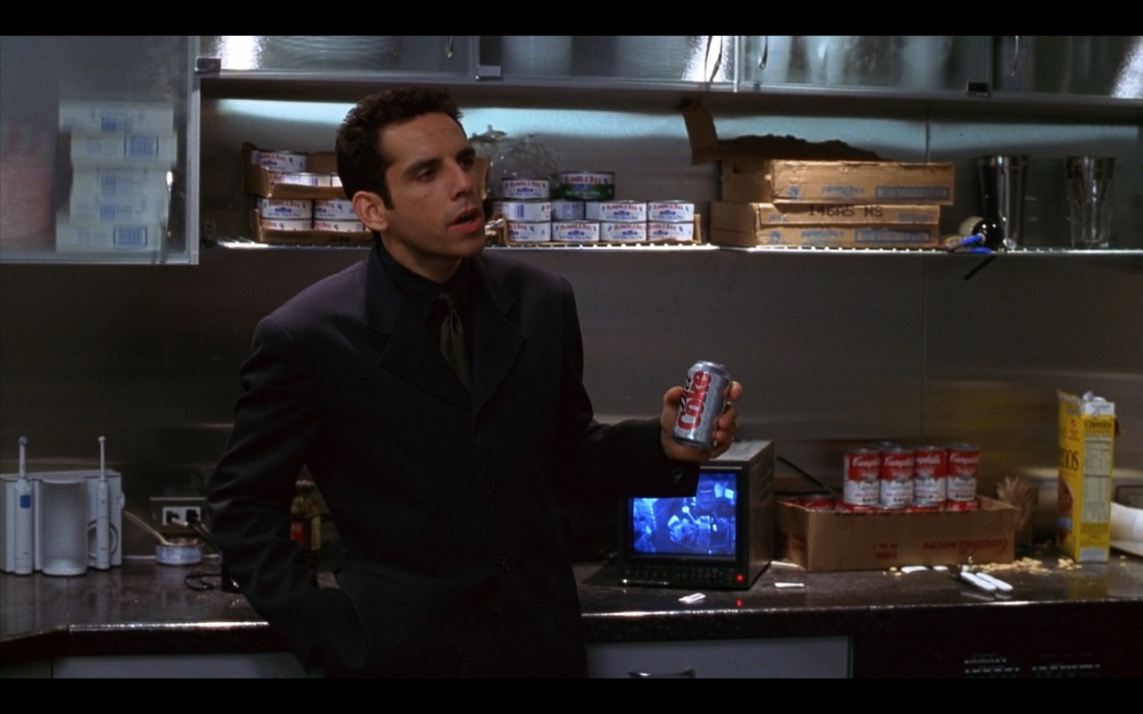 Campbell Soup Company, Cheerios And Diet Coke – Zero Effect (1998) Movie Product Placement