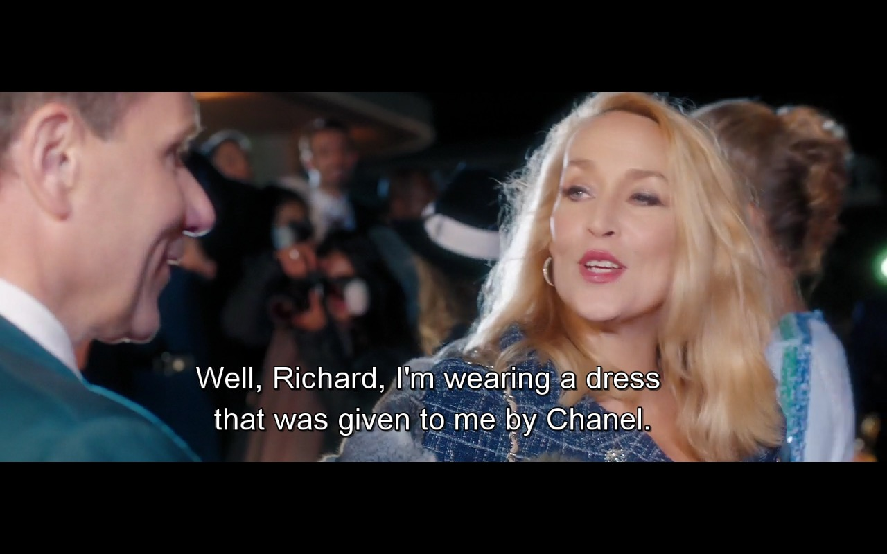 Chanel Dress - Absolutely Fabulous: The Movie (2016) Movie Product Placement