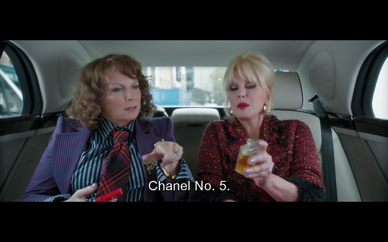 Chanel N°5 Perfume - Absolutely Fabulous: The Movie (2016) Movie  Product Placement Review