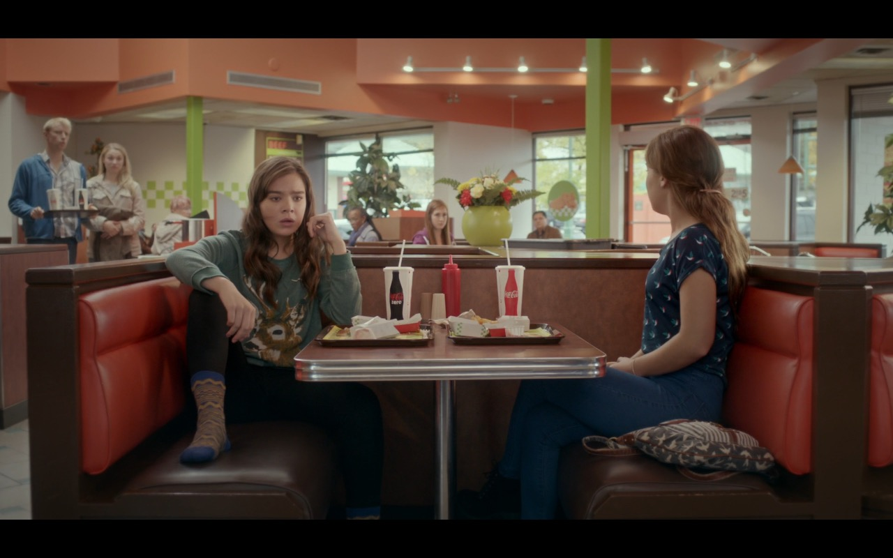 Coca-Cola – The Edge of Seventeen (2016) Movie Product Placement