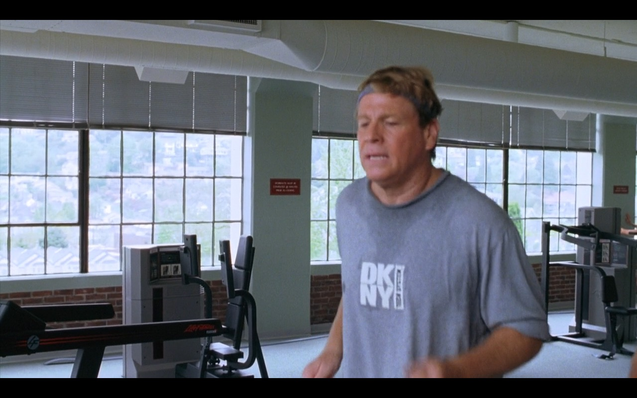 DKNY And Life Fitness – Zero Effect (1998) Movie Product Placement