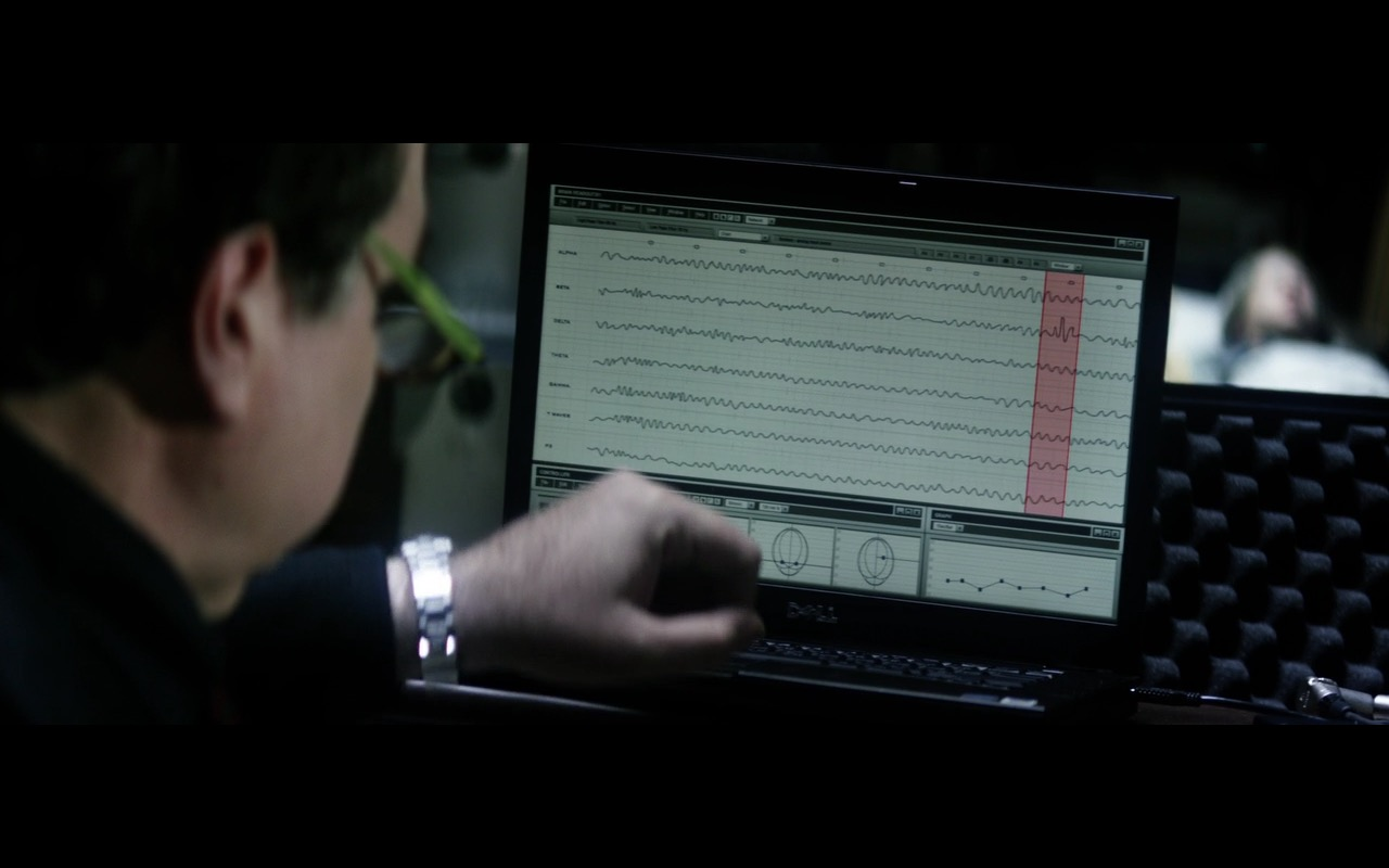 Dell Notebook - The 9th Life of Louis Drax (2016) Movie Product Placement