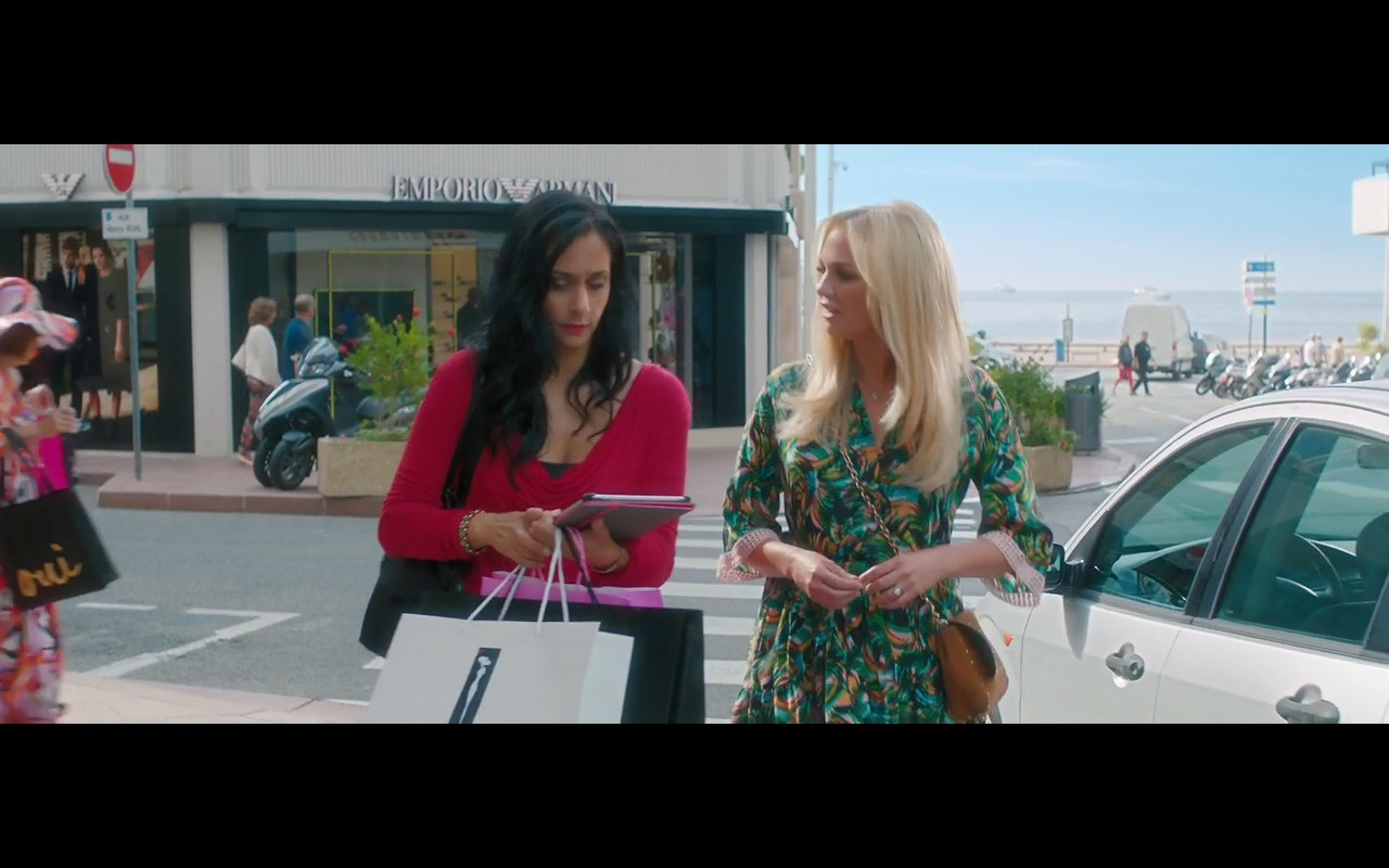 Emporio Armani – Absolutely Fabulous: The Movie (2016) - Movie Product Placement