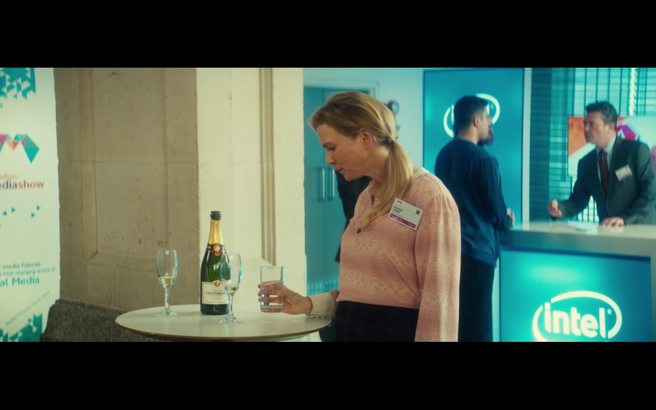 Intel - Bridget Jones's Baby (2016) Movie Product Placement