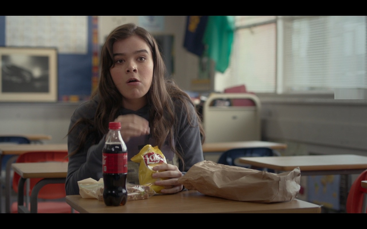 Lay's And Coca-Cola – The Edge of Seventeen (2016) - Movie Product Placement