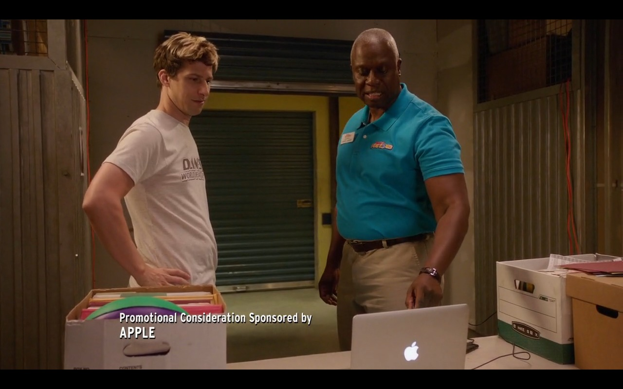 MacBook Pro - Brooklyn Nine-Nine - TV Show Product Placement