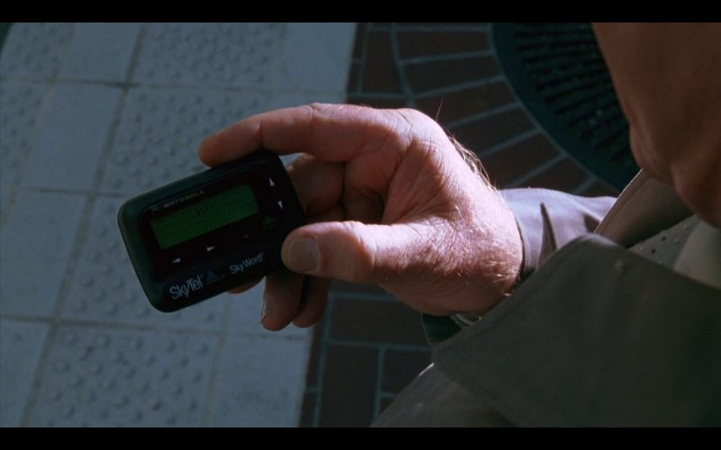 Motorola Skytel Pager – Zero Effect (1998) Movie Product Placement