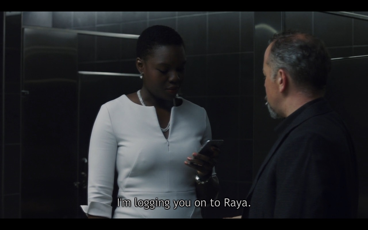 Raya - Billions - TV Show Product Placement