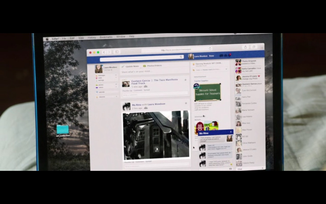 Safari – Friend Request (2016) Movie  Product Placement Review