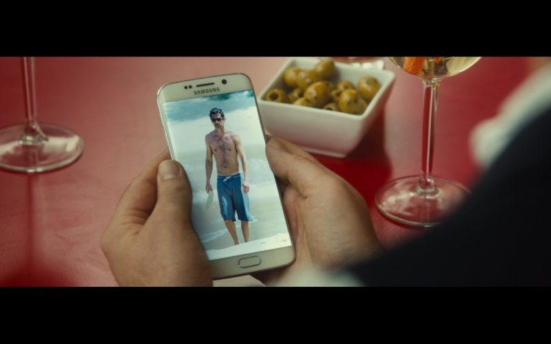 Samsung Galaxy EDGE – Bridget Jones's Baby (2016) Movie Product Placement