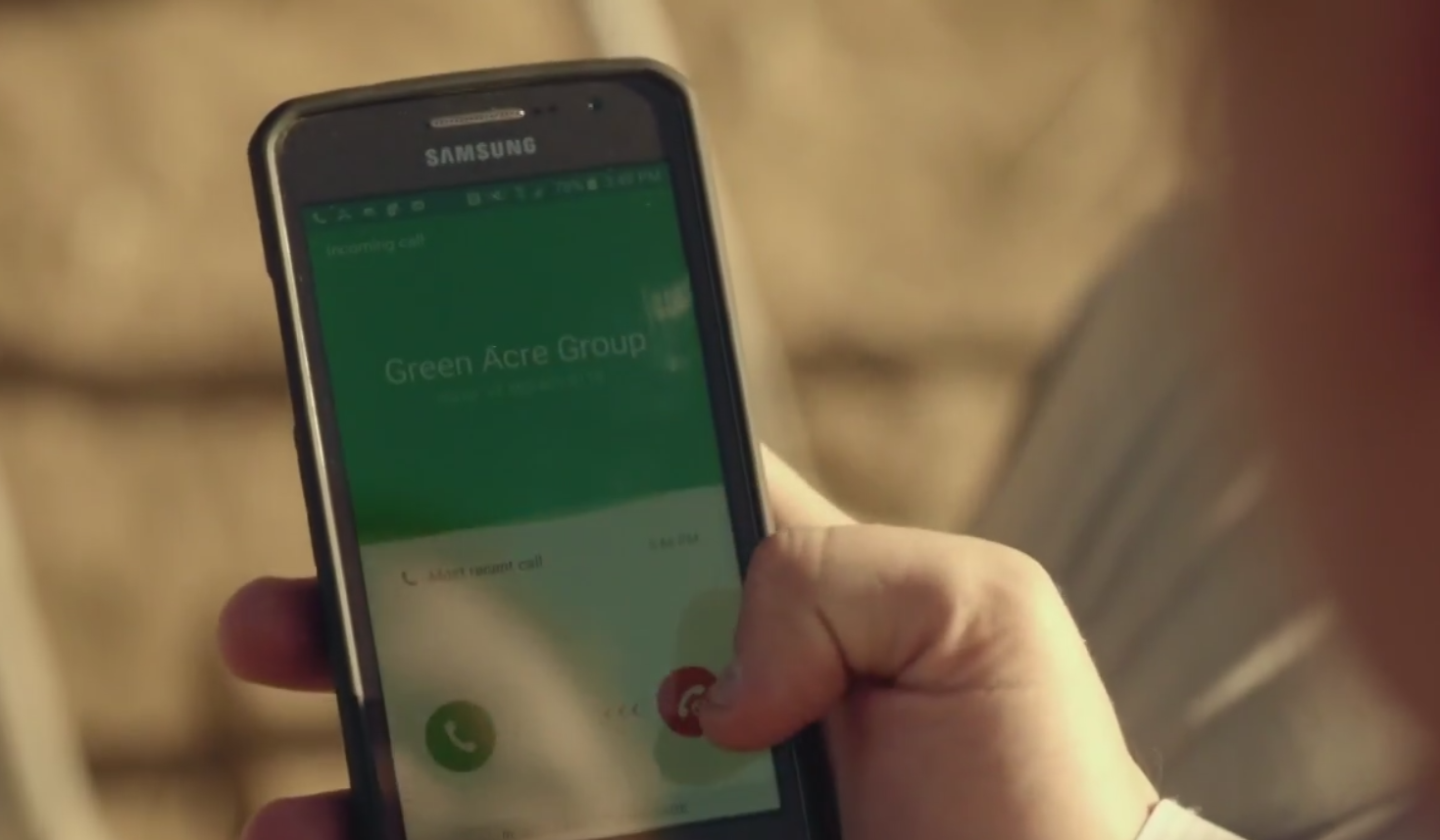 Samsung Smartphone - Preacher - TV Show Product Placement