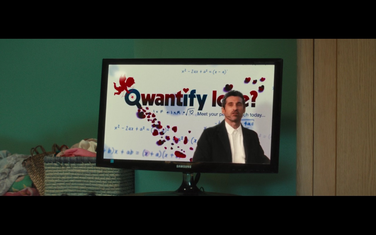 Samsung TV – Bridget Jones's Baby (2016) Movie Product Placement