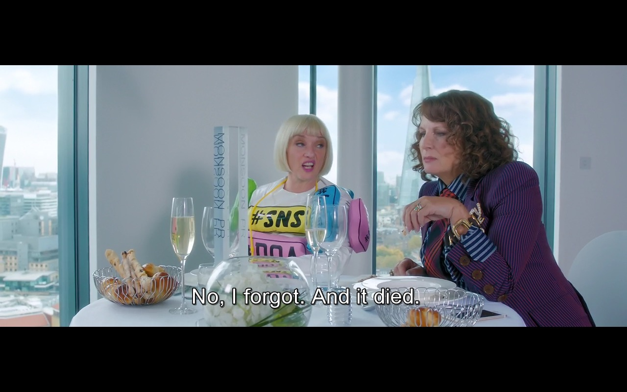 Twitter – Absolutely Fabulous: The Movie (2016) Movie Product Placement