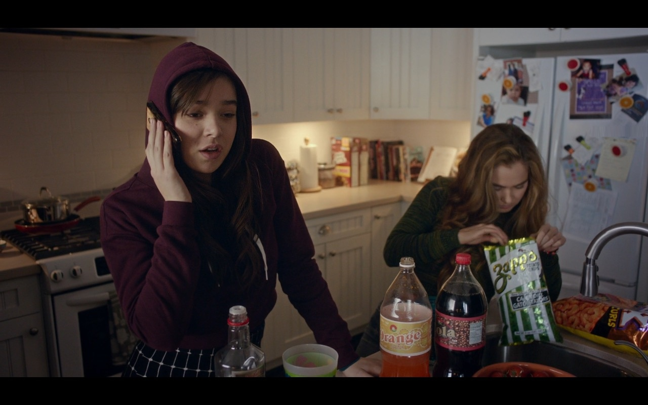 Zapp's Potato Chips – The Edge of Seventeen (2016) Movie  Product Placement Review