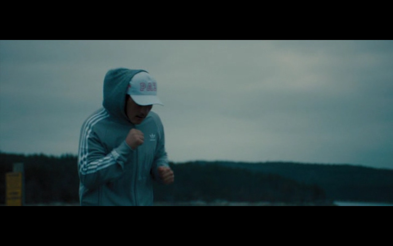 Adidas Blue Jacket - Bleed for This (2016) Movie  Product Placement Review