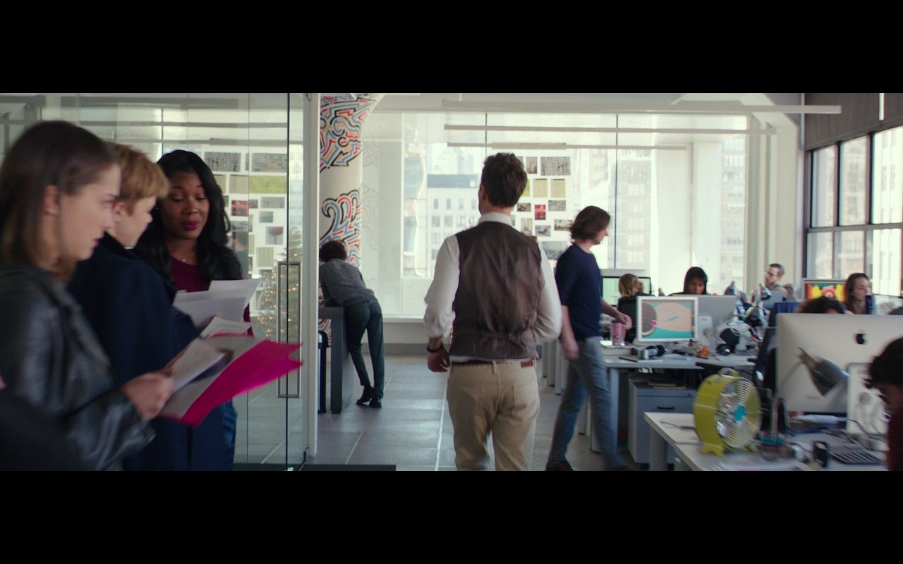 Apple iMac Computers - Collateral Beauty (2016) Movie Product Placement