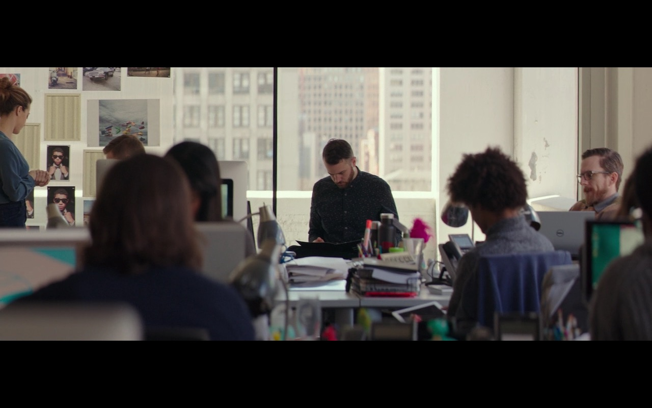 Dell Notebook - Collateral Beauty (2016) Movie Product Placement