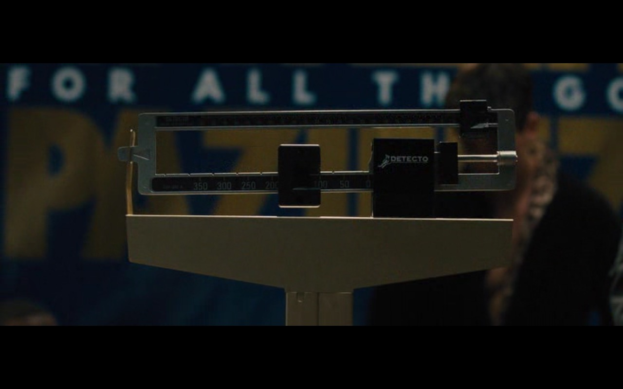 Detecto Scales - Bleed for This (2016) Movie Product Placement
