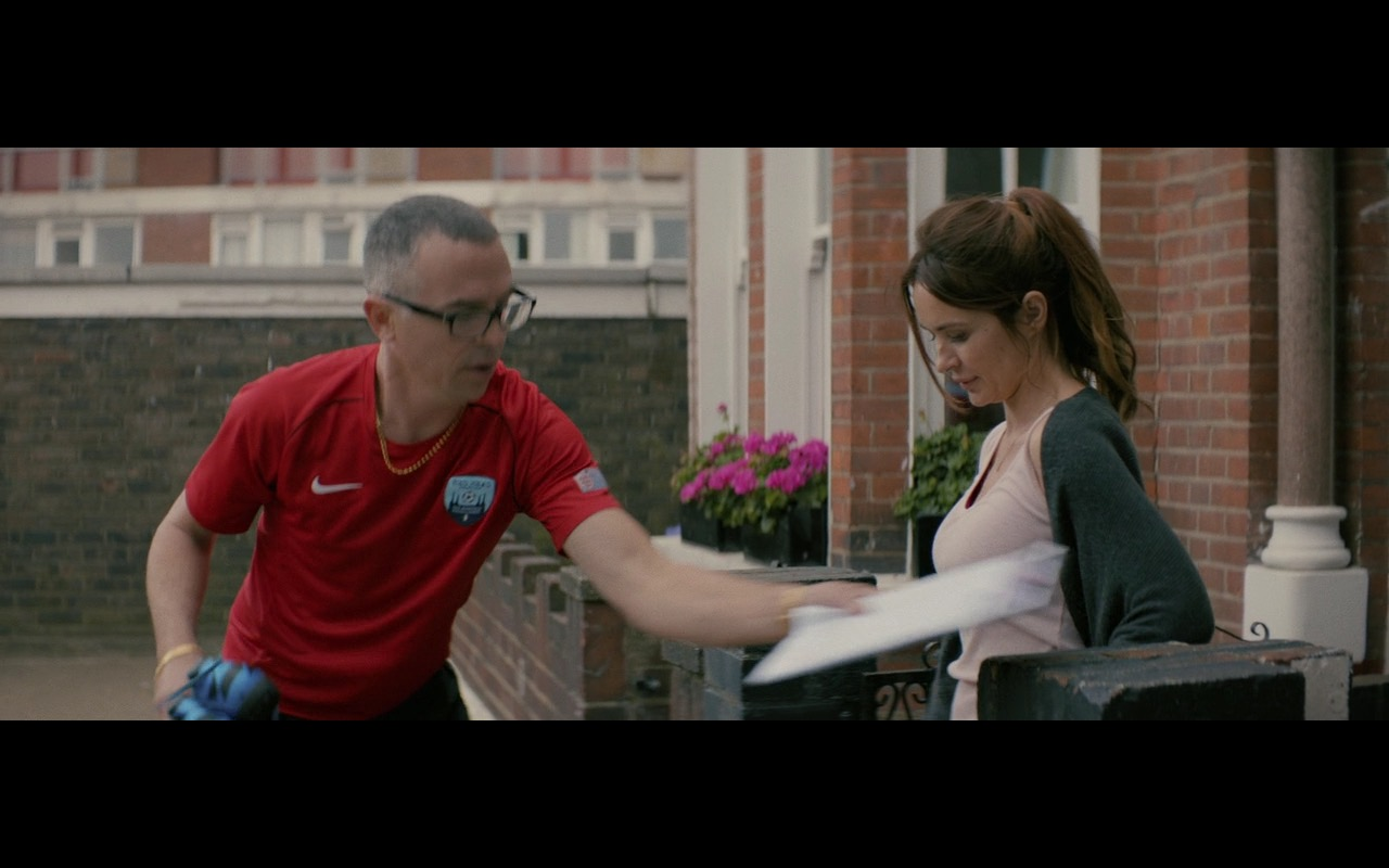 Nike Red Shirt For Men – 100 Streets (2016) Movie Product Placement