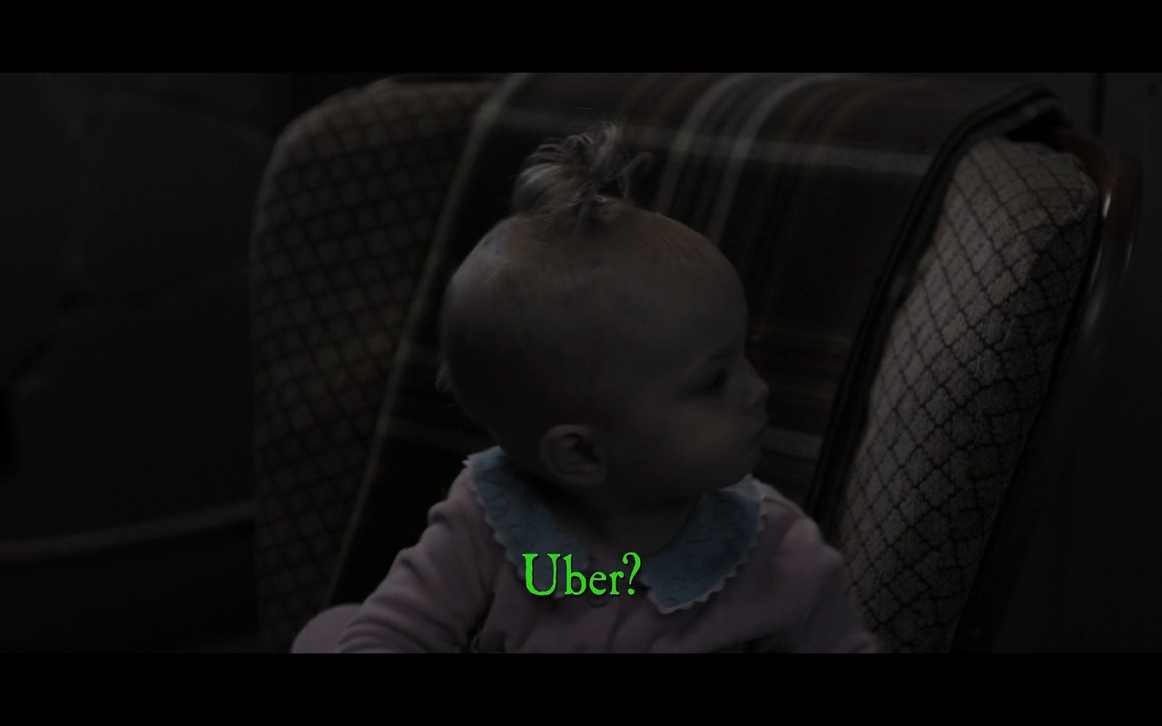 UBER - A Series of Unfortunate Events TV Show Product Placement
