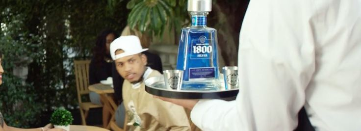 1800 Tequila in PROMISE by Kid Ink (2016) Official Music Video Product Placement