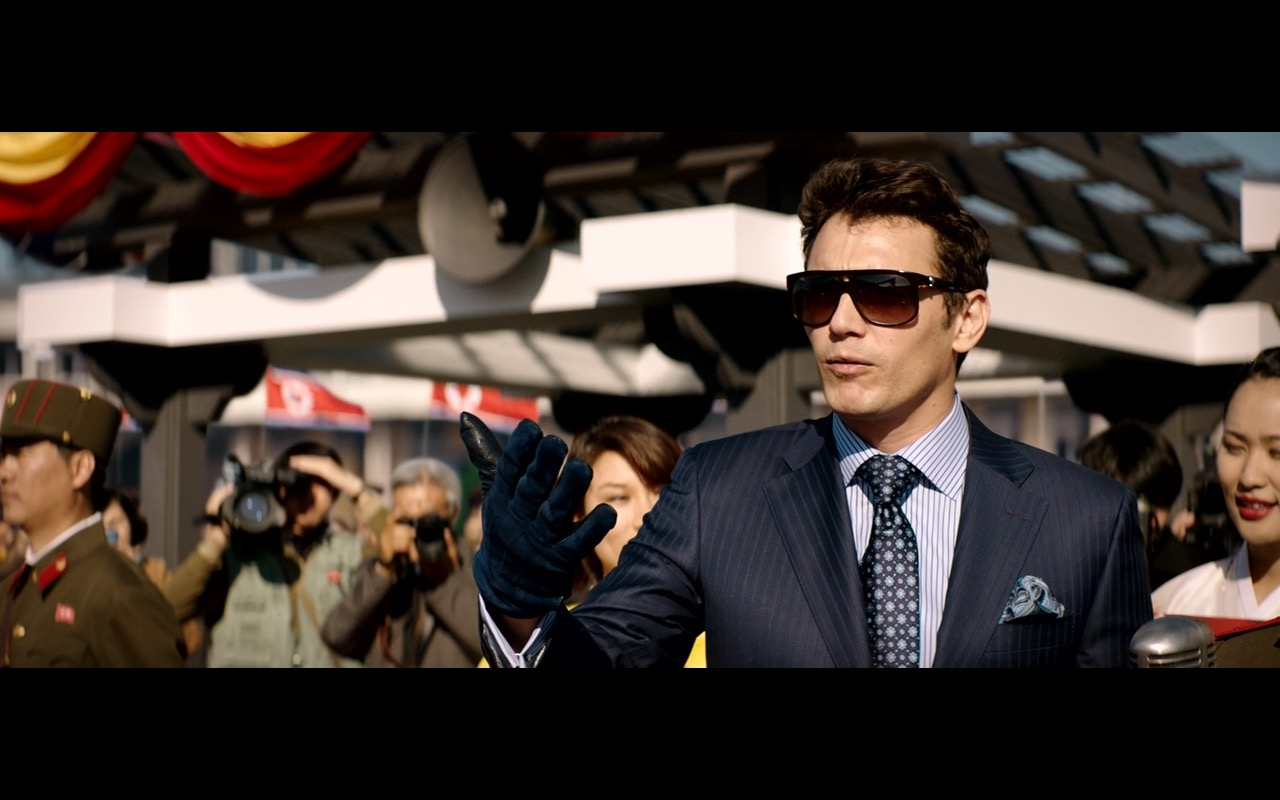Alexander McQueen Sunglasses - The Interview (2014) Movie Product Placement