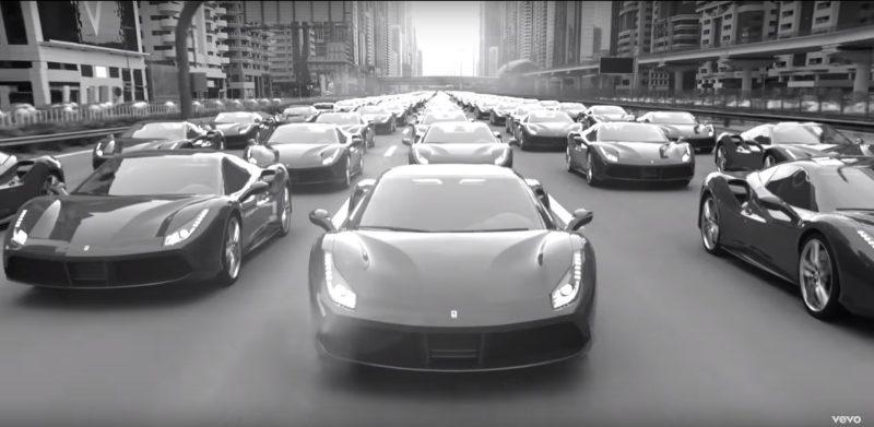 Ferrari 488 GTB - Imagine Dragons - Thunder Official Music Video Product Placement