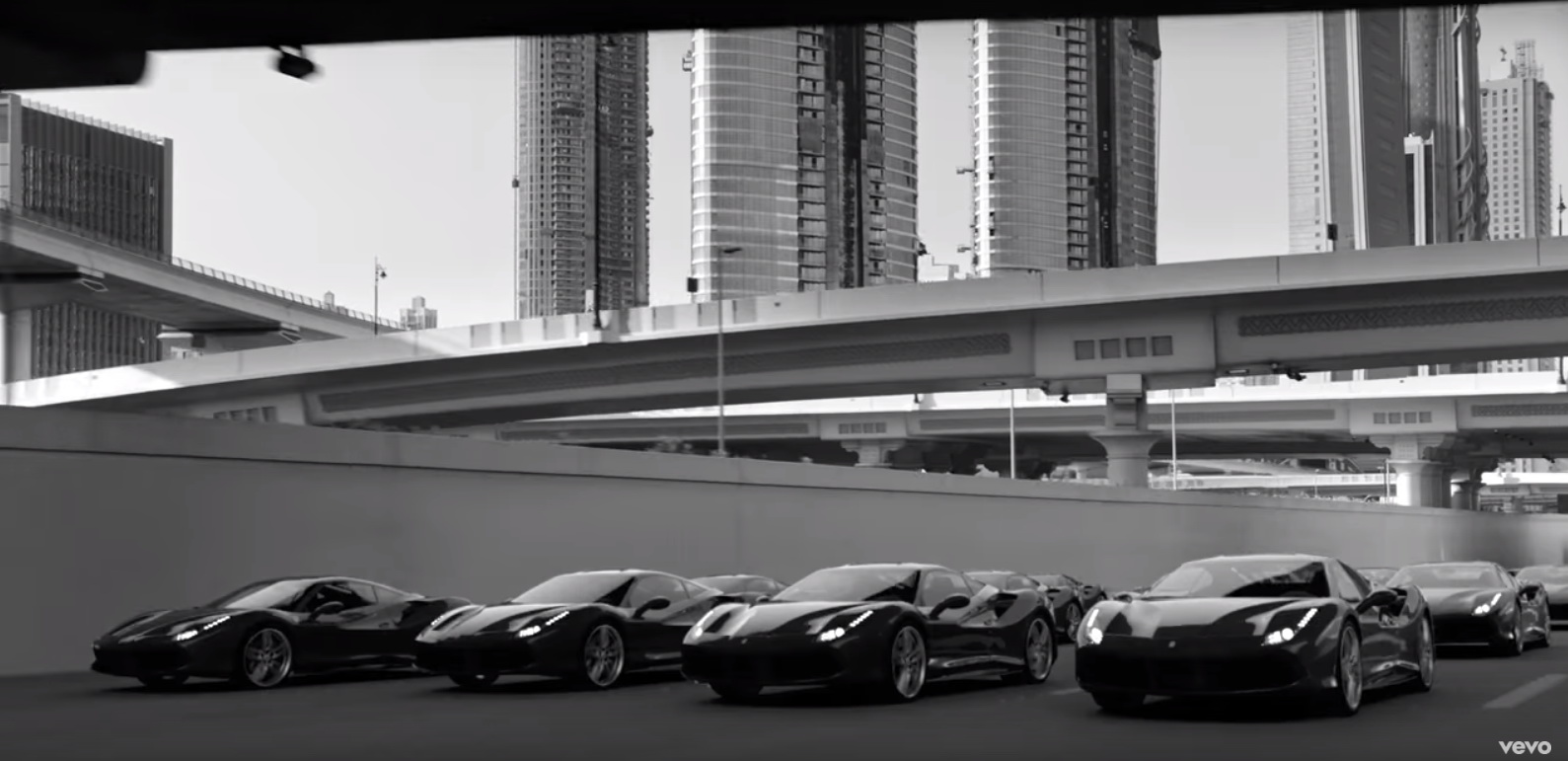 Ferrari 488 GTB - Imagine Dragons - Thunder Official Music Video Product Placement