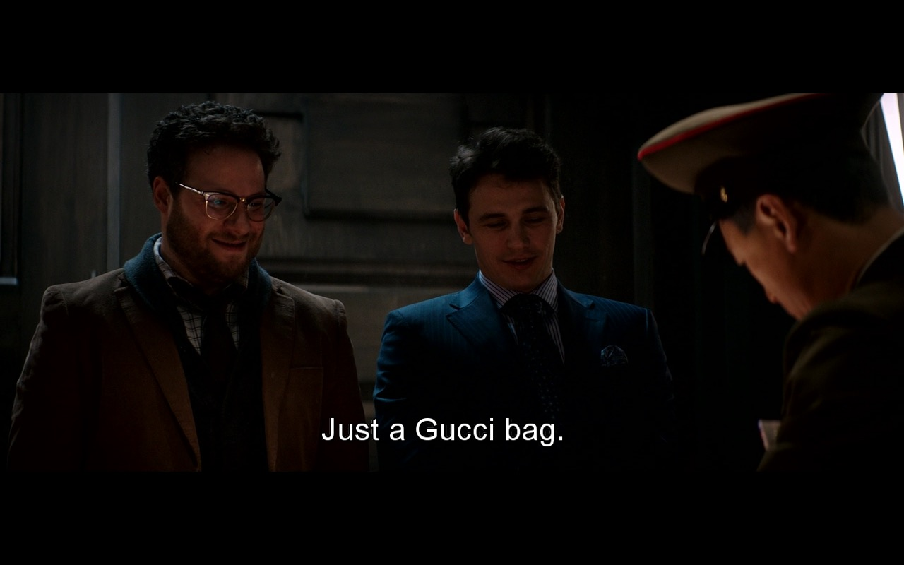 Gucci bag - The Interview (2014) Movie Product Placement