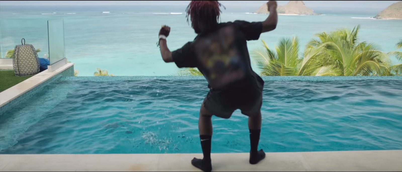 Nike Socks – Lil Uzi Vert – Do What I Want - Official Music Video Product Placement